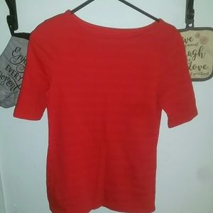 Red women's t shirt size small